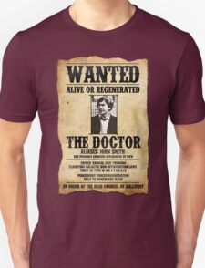 WANTED: THE DOCTOR T-Shirt