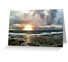 Father Neptune, Brother Sun Greeting Card