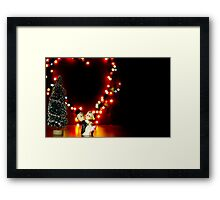 Valentine Doll Dance Framed Print