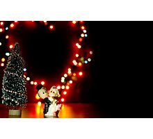Valentine Doll Dance Photographic Print