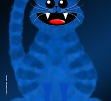 BLUEMOON CAT by peter chebatte