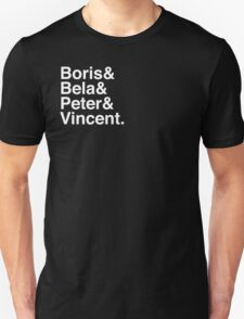 Boris & Bela & Peter & Vincent T-Shirt