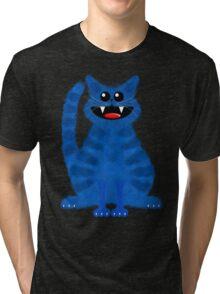BLUEMOON CAT Tri-blend T-Shirt