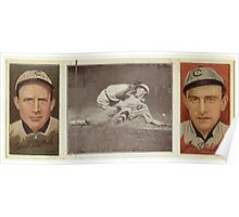 Benjamin K Edwards Collection Orval Overall James P Archer Chicago Cubs baseball card portrait 001 Poster