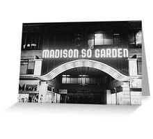 Vintage Madison Square Garden Greeting Card