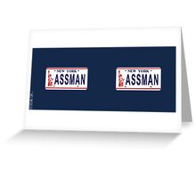 Assman Greeting Card
