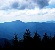 Ridgeline, Blue Ridge Mountains by glennc70000