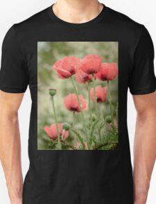 Oriental poppies patterns T-Shirt