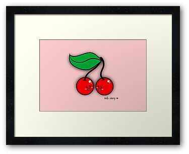 Hello Cherry - two lof bees by Josh Bush