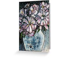 China Vase - Kerry Beazley Greeting Card