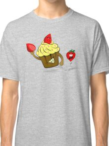 Cupcake Killer & Strawberries Classic T-Shirt