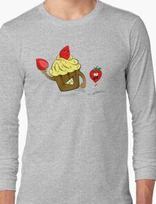 Cupcake Killer & Strawberries Long Sleeve T-Shirt