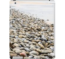 pebbled beach beside the links golf course iPad Case/Skin