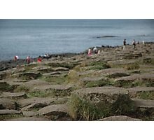 Steps on the Giant's Causeway Photographic Print