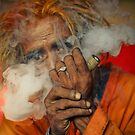 Smoking Saint -I by RajeevKashyap
