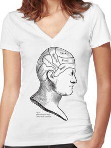 Cranium Women's Fitted V-Neck T-Shirt