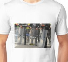 Riot Police With Shields Unisex T-Shirt
