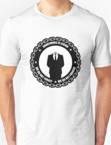 We do not forgive we do not forget Unisex T-Shirt