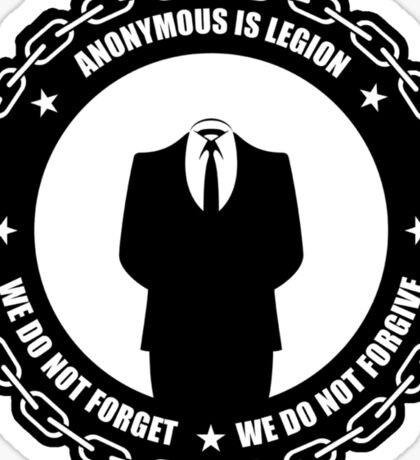 We do not forgive we do not forget Sticker