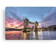A Bridge of Two Halves Canvas Print