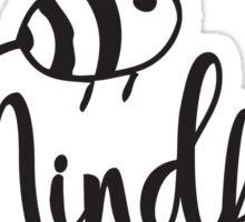 Bee Mindful Sticker