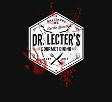Dr Lecter's Gourmet Dining - White Version T-Shirt