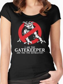 I Am The Gatekeeper Women's Fitted Scoop T-Shirt