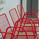 Red Chairs by Bethany Helzer