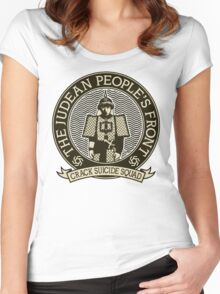 Judean Peoples Front Women's Fitted Scoop T-Shirt