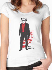 Mr. Spots Reservoir Dogs Women's Fitted Scoop T-Shirt
