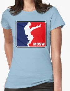 The Ministry Of Silly Walks Womens Fitted T-Shirt