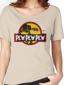 Pew Pew Pew Women's Relaxed Fit T-Shirt