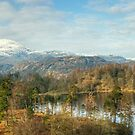 Mountains and Tarn by VoluntaryRanger