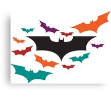 Batman Symbol - Bats Canvas Print