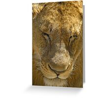 In deep thoughts Greeting Card