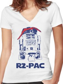 R2-PAC Women's Fitted V-Neck T-Shirt