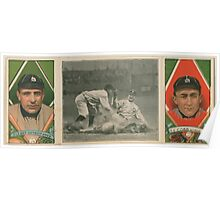 Benjamin K Edwards Collection Chas O'Leary Tyrus Cobb Detroit Tigers baseball card portrait Poster