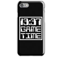 13:37 Game Time iPhone Case/Skin