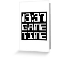 13:37 Game Time Greeting Card