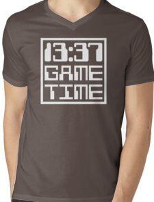 13:37 Game Time Mens V-Neck T-Shirt