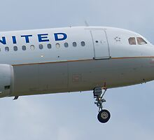 Nose Shot N467UA United A320-232 Approach by Henry Plumley