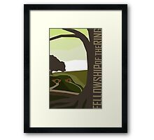 Lord of the Rings - The Fellowship of the Ring  Framed Print