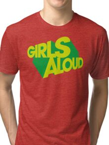Girls Aloud - What Will The Neighbours Say? Logo Tri-blend T-Shirt