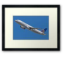 United N457UA Airbus A320-232 Framed Print