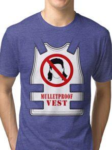 Mulletproof Vest Tri-blend T-Shirt