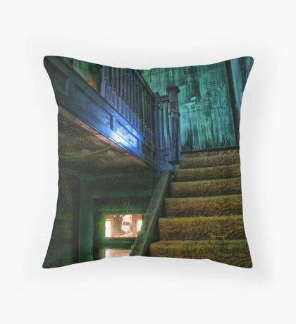 Interior Stairs Throw Pillow