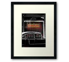 BACK DOOR MAN Framed Print