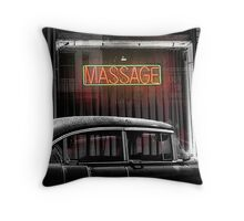 BACK DOOR MAN Throw Pillow