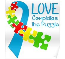 Love Completes The Puzzle Poster
