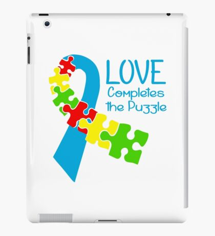Love Completes The Puzzle iPad Case/Skin